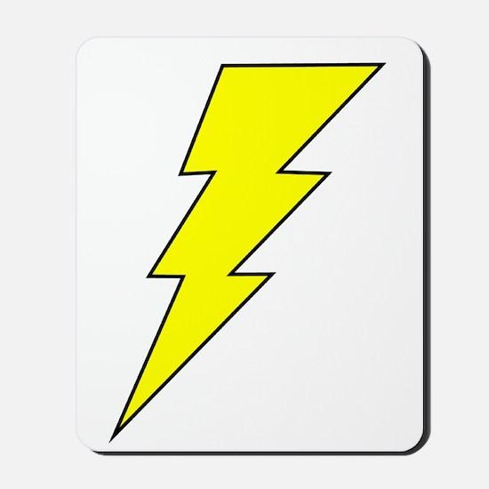 The Lightning Bolt 8 Shop Mousepad