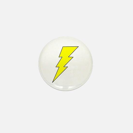 The Lightning Bolt 8 Shop Mini Button