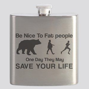 Be nice to fat people Flask