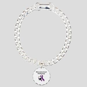Misunderstood Charm Bracelet, One Charm