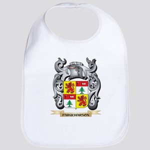 Farquharson Coat of Arms - Family Crest Baby Bib