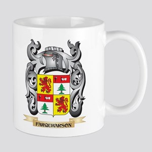 Farquharson Coat of Arms - Family Crest Mugs