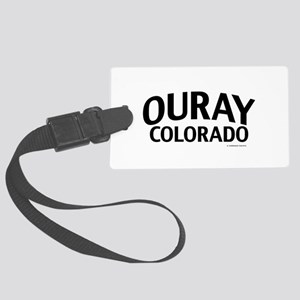 Ouray Colorado Luggage Tag