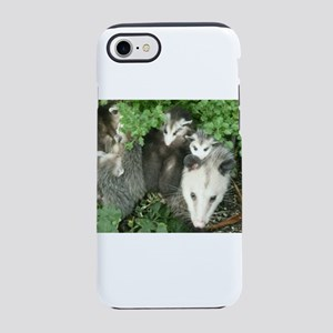 mother opossum in garden with iPhone 7 Tough Case