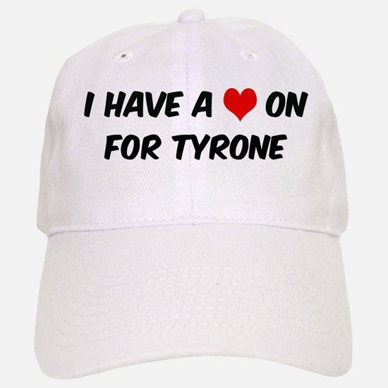 Heart on for Tyrone Baseball Baseball Cap