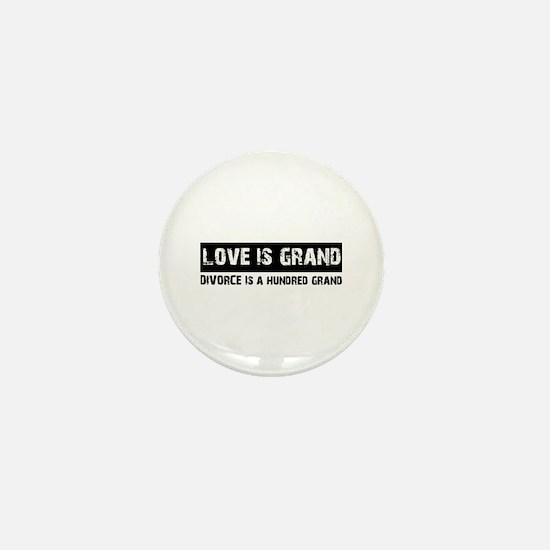 Cool Funny Designs Mini Button