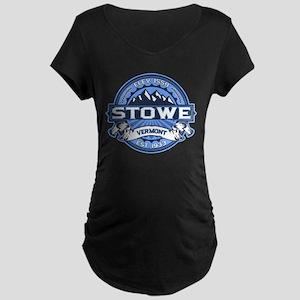 Stowe Blue Maternity Dark T-Shirt