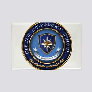 Defense Information School Clasic Rectangle Magnet