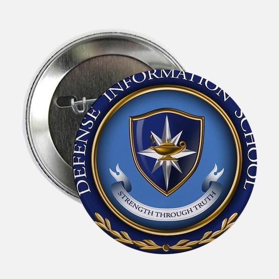 """Defense Information School Clasic 2.25"""" Button"""