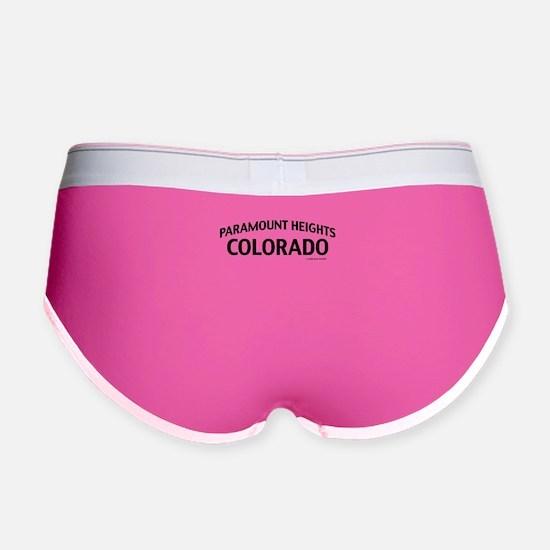 Paramount Heights Colorado Women's Boy Brief