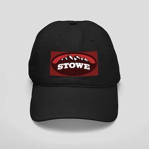 Stowe Red Black Cap