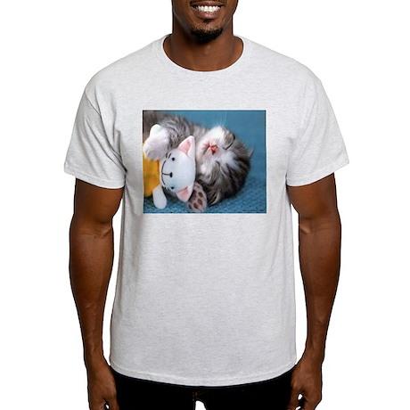 Cute & Adorable Ash Grey T-Shirt