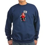 HASH IT OUT WITH JANE Sweatshirt