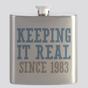 Keeping It Real Since 1983 Flask