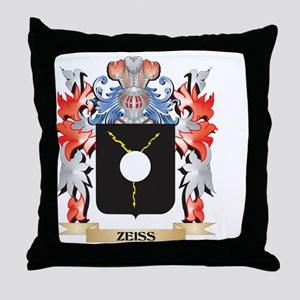 Zeiss Coat of Arms - Family Crest Throw Pillow