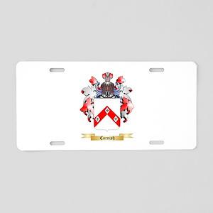 Cornish Aluminum License Plate