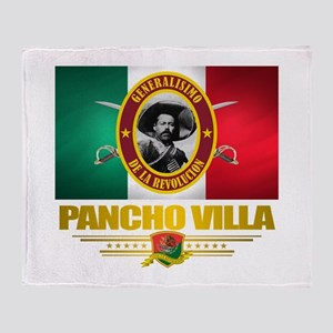 Pancho Villa Throw Blanket