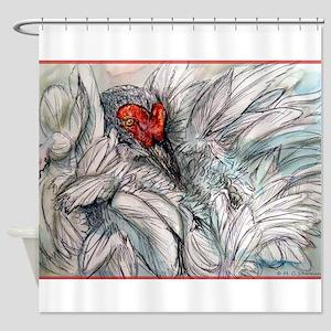 Sandhill Crane! Bird art Shower Curtain