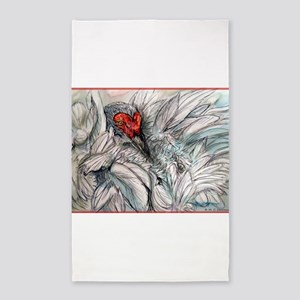 Sandhill Crane! Bird art 3'x5' Area Rug