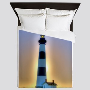 Lighthouse 01 Queen Duvet