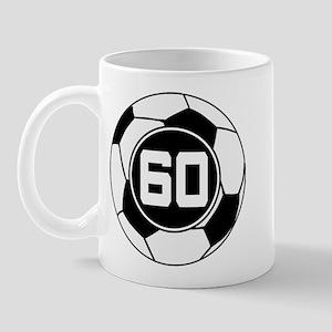 Soccer Number 60 Player Mug