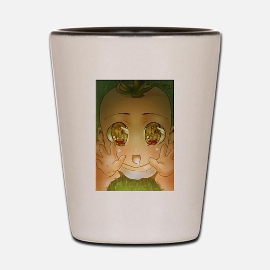 Anime Baby God Shot Glass
