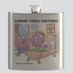 Grape Expectations Pregnancy Flask