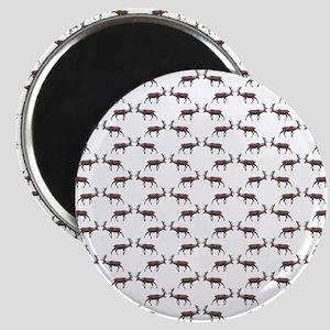 Deer Stag Pattern. Magnet