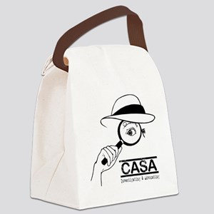 CASA Detective Canvas Lunch Bag