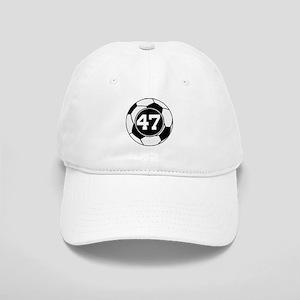 Soccer Number 47 Player Cap