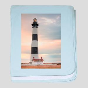 Lighthouse 02 baby blanket
