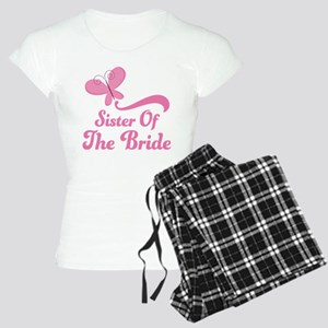 Sister of the Bride Butterfly Women's Light Pajama