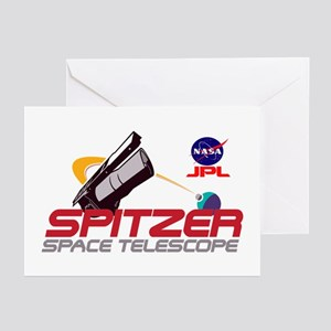 Spitzer Space Telescope Greeting Cards (Pk of 10)
