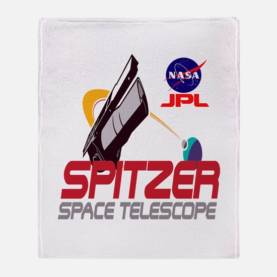 Spitzer Space Telescope Throw Blanket