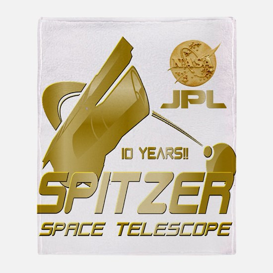 Spitzer At 10! Throw Blanket