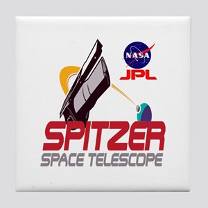 Spitzer Space Telescope Tile Coaster