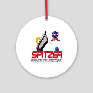 Spitzer Space Telescope Ornament (Round)