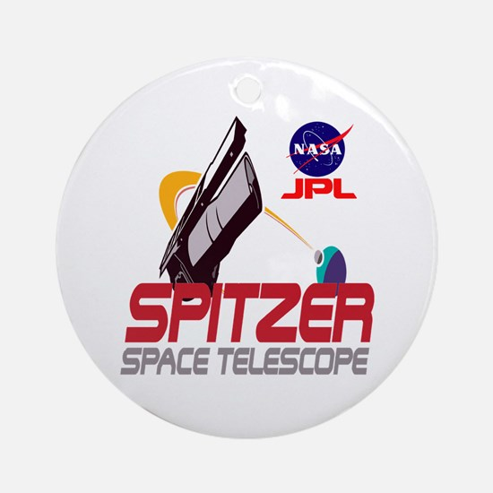 Spitzer Space Telescope Ornament (Round)
