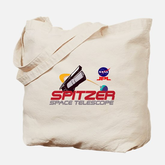 Spitzer Space Telescope Tote Bag