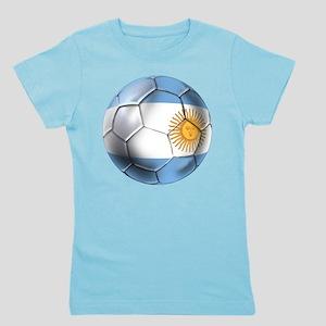Argentina Football Girl's Tee