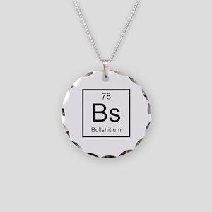 Bs Bullshitium Element Necklace Circle Charm