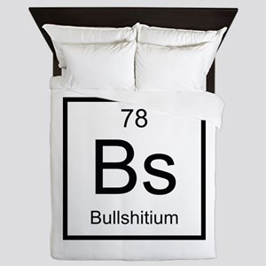 Bs Bullshitium Element Queen Duvet