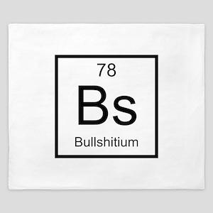 Bs Bullshitium Element King Duvet