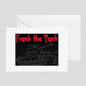 FRANK THE TANK Greeting Card