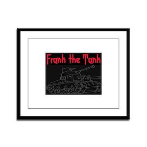 FRANK THE TANK Framed Panel Print