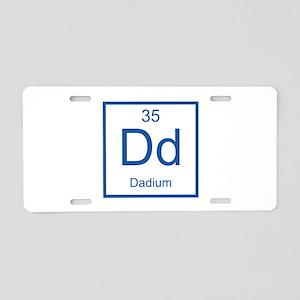 Dd Dadium Element Aluminum License Plate