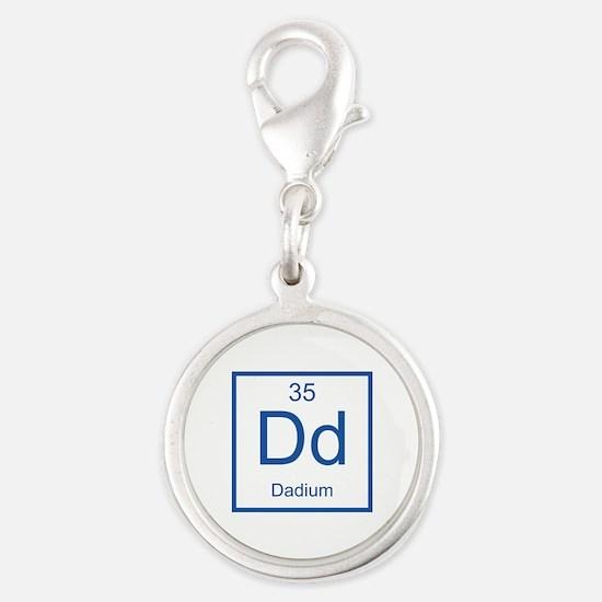 Dd Dadium Element Silver Round Charm