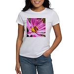 Honey Bee on Pink Wildflower Women's T-Shirt