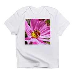 Honey Bee on Pink Wildflower Infant T-Shirt