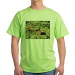 Bullfrog in green is King Green T-Shirt